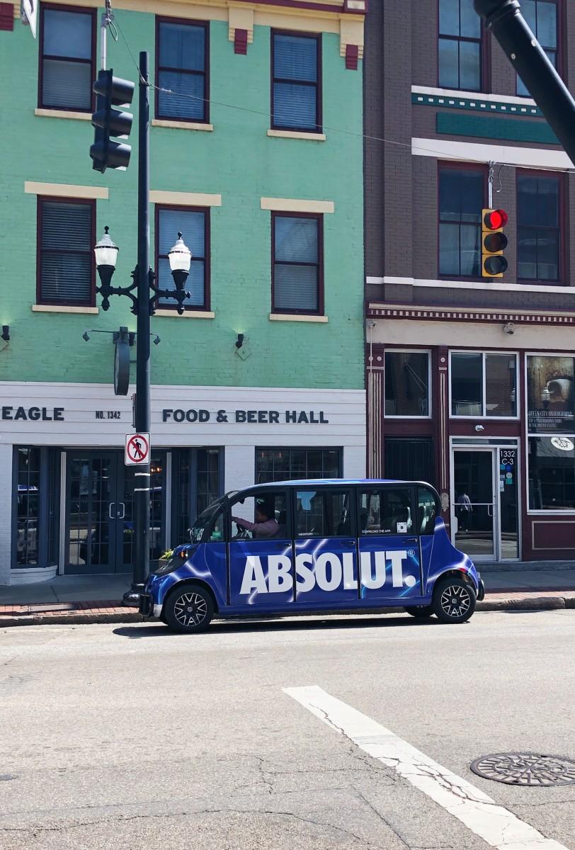 Pedicab - Downtown Cincinnati Ohio - Her Heartland Soul
