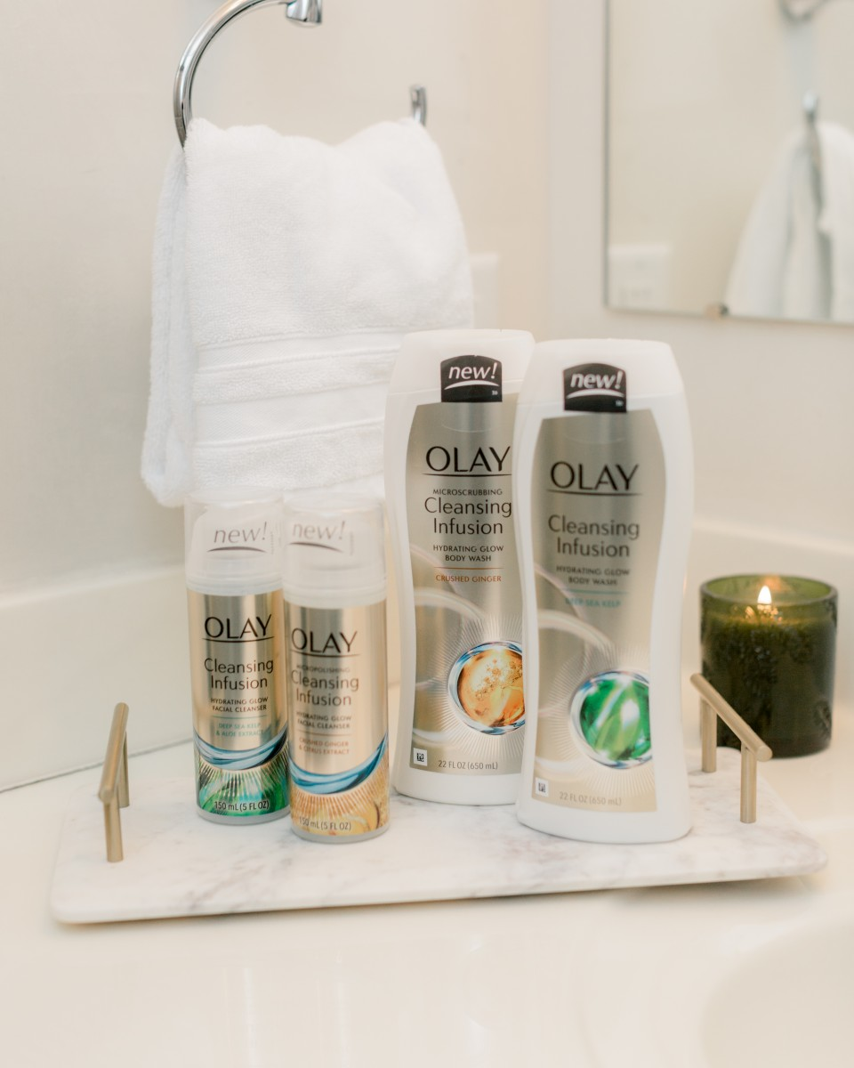 Olay Cleansing Infusion Hydrating Glow Facial Cleanser - Her Heartland Soul