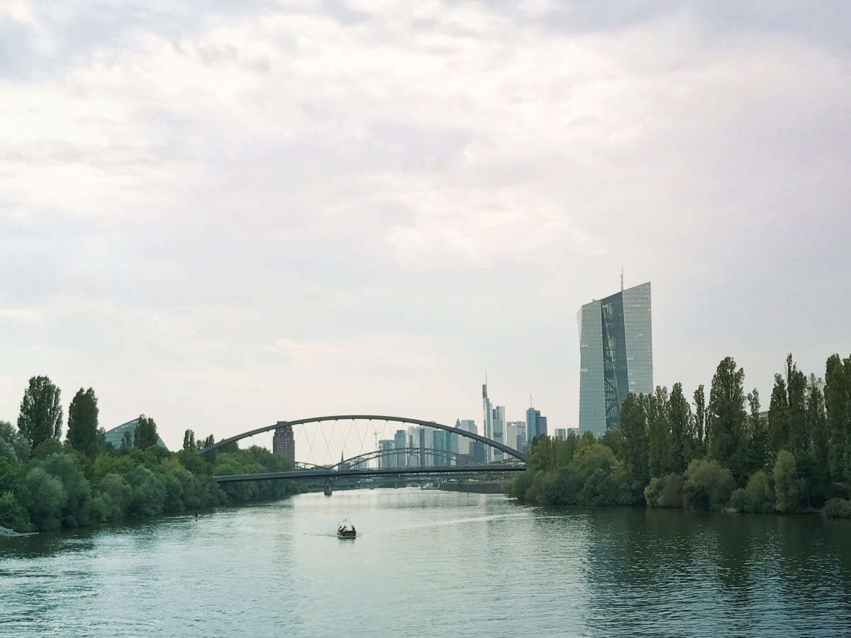 Downtown Frankfurt City - Frankfurt Germany - Her Heartland Soul