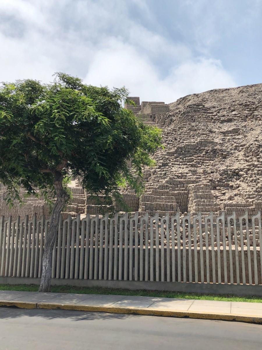 The Huaca Pucllana Ruins - Miraflores Lima Peru - Her Heartland Soul