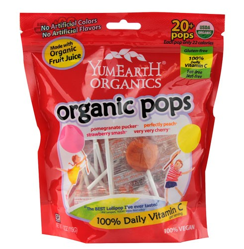 YumEarth Organics Organic Pops Her Heartland Soul