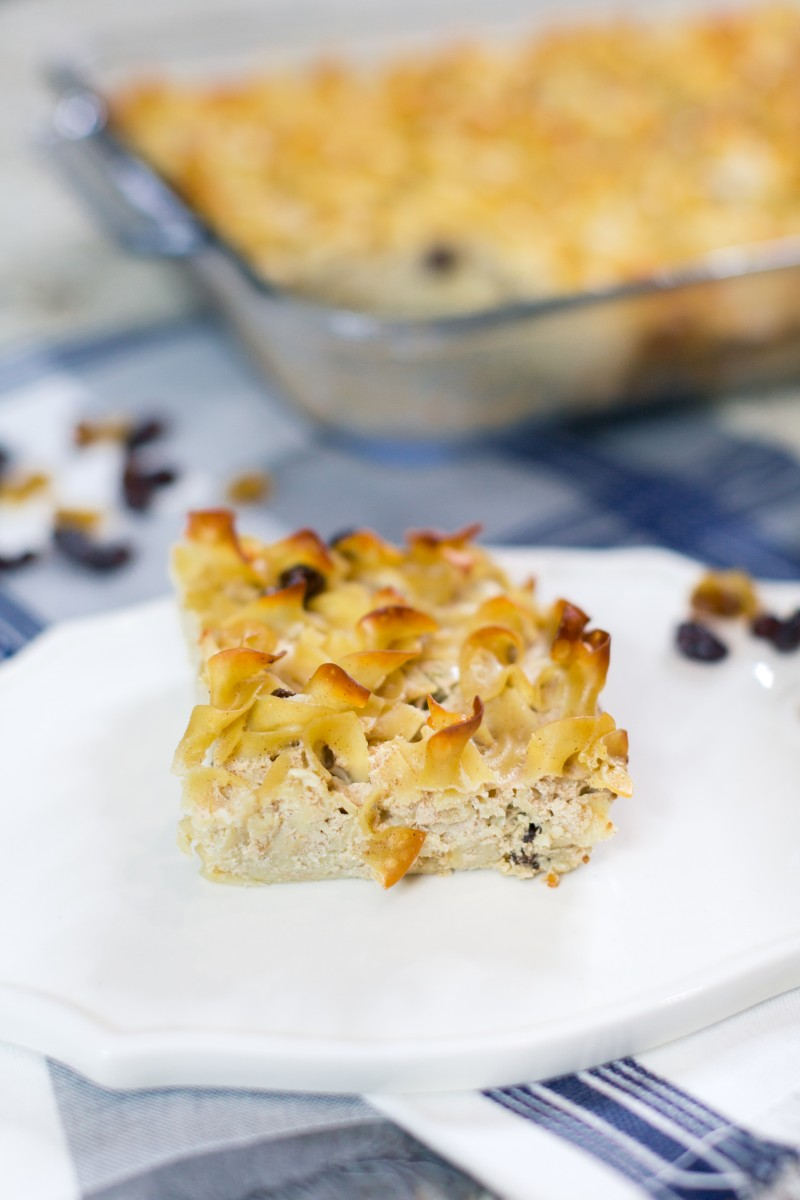 Sweet Noodle Kugel Recipe - Her Heartland Soul