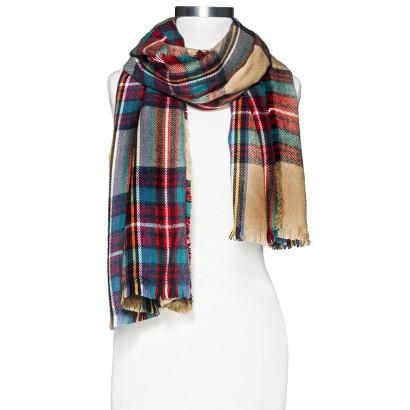 Target Oversized Plaid Scarf Her Heartland Soul Erin Fairchild