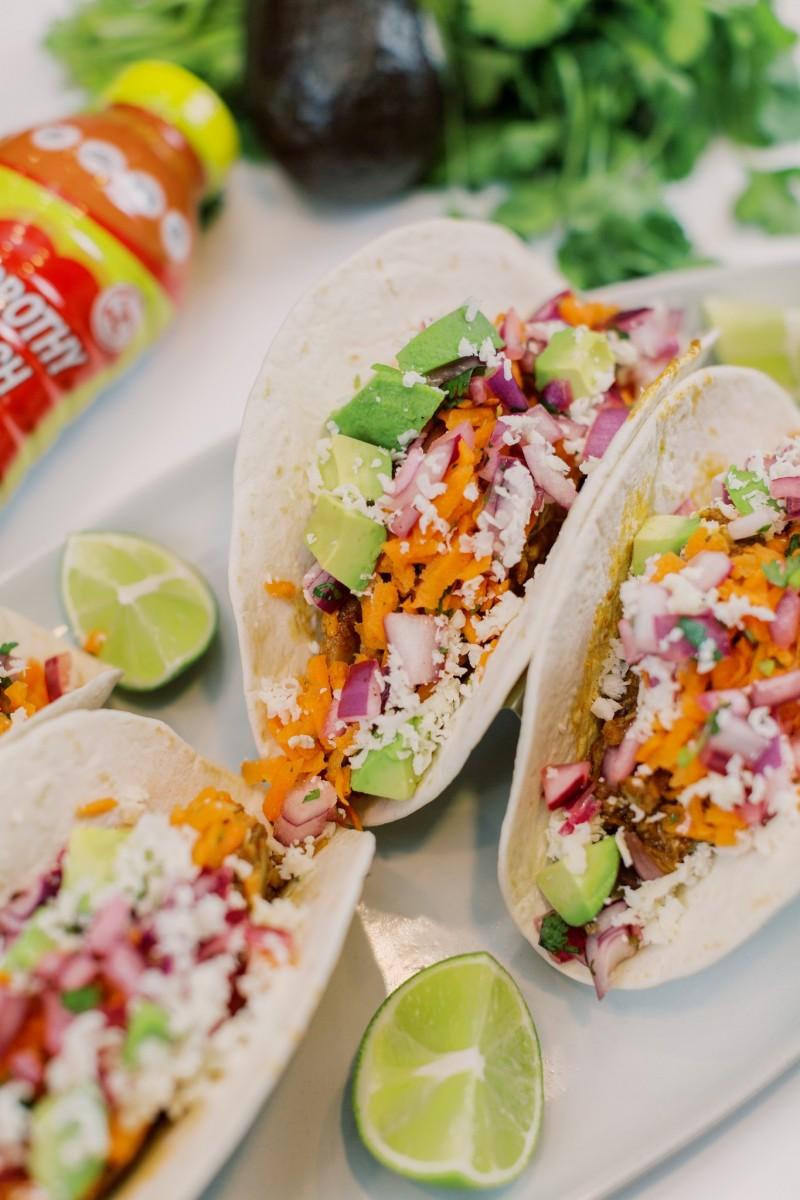 BBQ Jackfruit Tacos - Her Heartland Soul