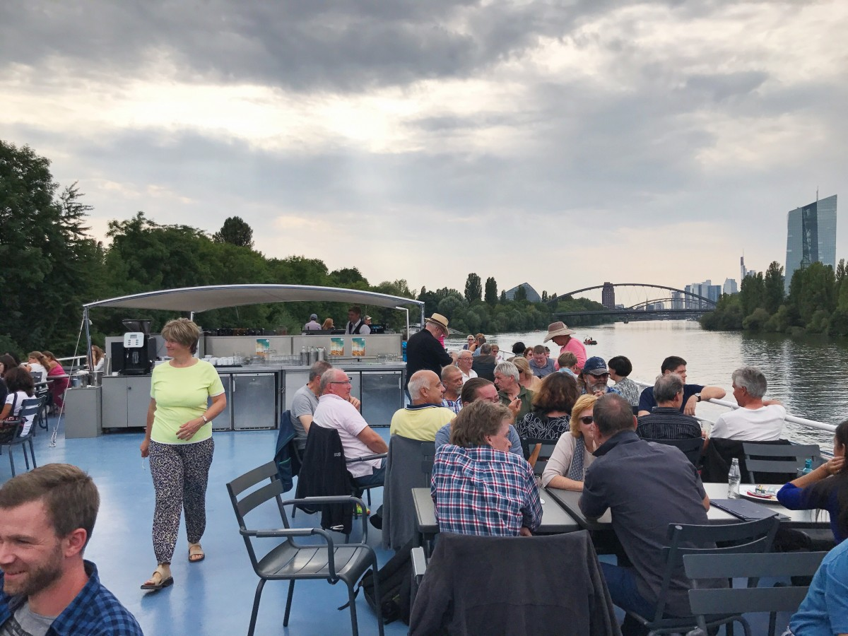 Frankfurt River Tour on Primus-Linie - Frankfurt Germany - Her Heartland Soul