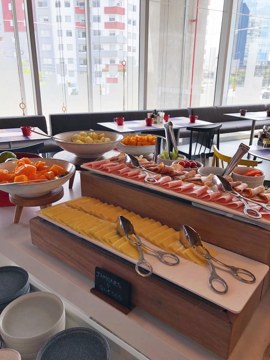 Aloft Lima Miraflores Peru Breakfast - Her Heartland Soul