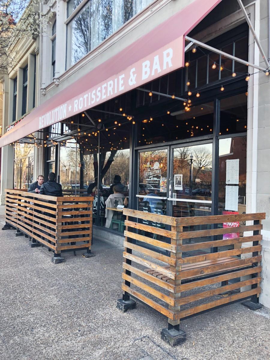 Revolution Rotisserie & Bar Cincinnati Ohio - Her Heartland Soul