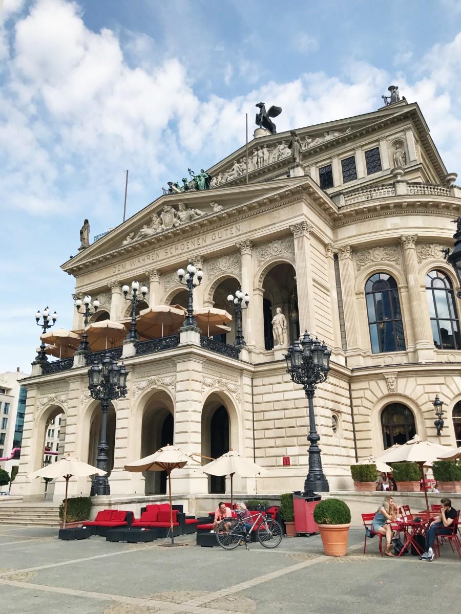 Frankfurt Opera House, Alte Oper Frankfurt Germany - Her Heartland Soul