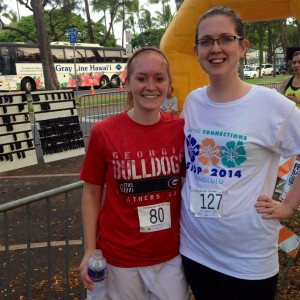 Erin Fairchild SIOP Frank Landy 5k Fun Run Waikiki Hawaii Her Heartland Soul