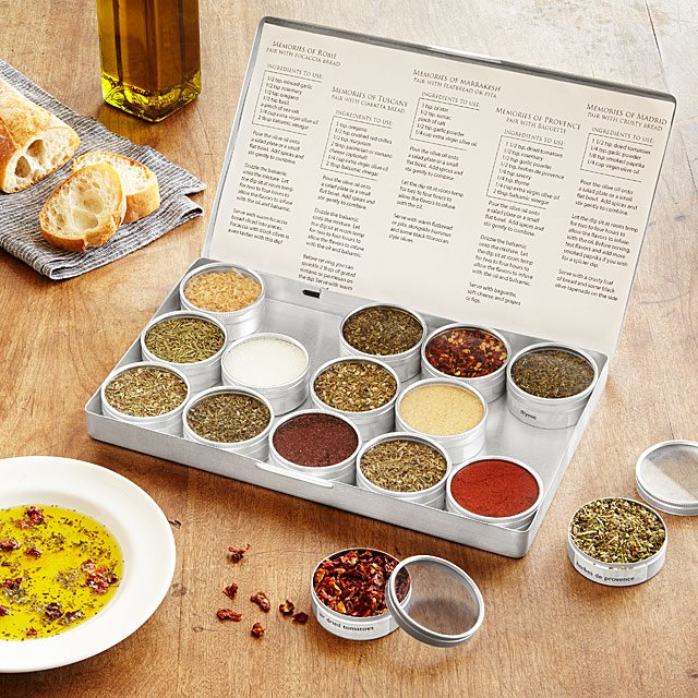 Gourmet Oil Dipping Spice Kit 14 Creative Valentine's Day Ideas for Him - Her Heartland Soul