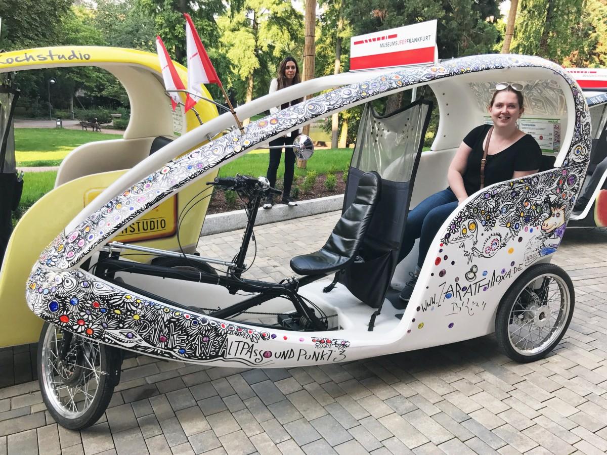 Frankfurt pedicab tour - Frankfurt Germany - Her Heartland Soul
