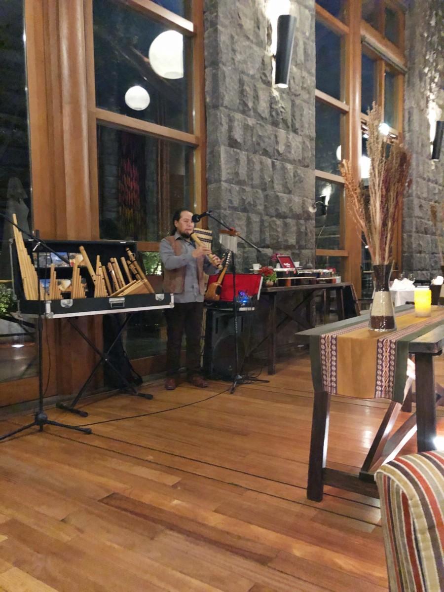 Traditional Peruvian Music - Hotel Tambo Del Inka - Her Heartland Soul