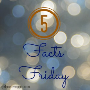 Five facts friday erin fairchild girl gone veggie