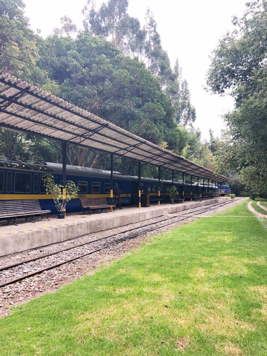 Tambo Del Inka private train station to Machu Picchu