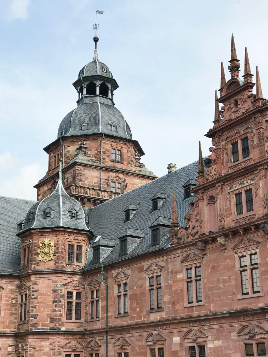 Schloss Johannisburg Aschaffenburg Bavaria Her Heartland Soul