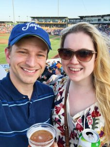 Summer date night at an Omaha Storm Chasers baseball game