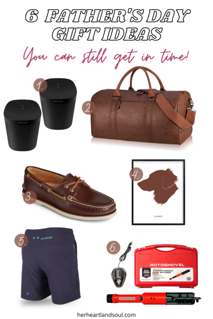 6 Father's Day Gift Ideas - Her Heartland Soul