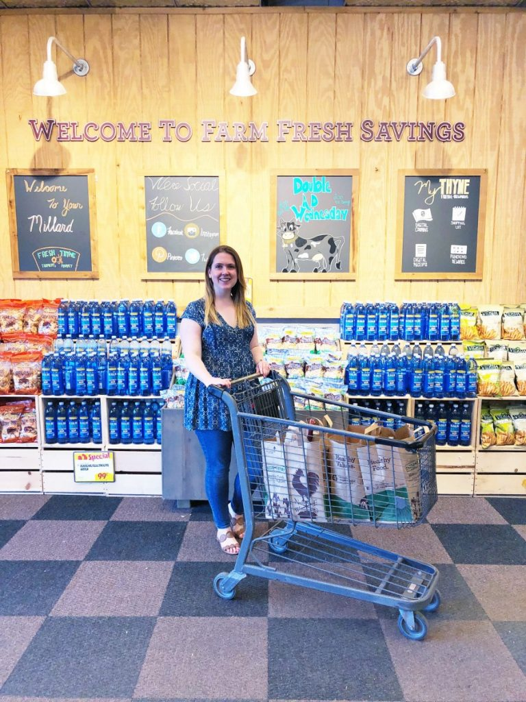 Shopping at Fresh Thyme Omaha - Her Heartland Soul