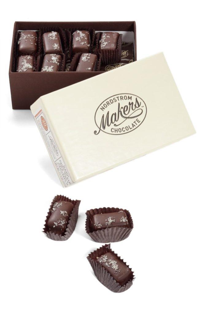 Dark Chocolate Sea Salt Caramels - Christmas Gift Ideas for Her - Her Heartland Soul