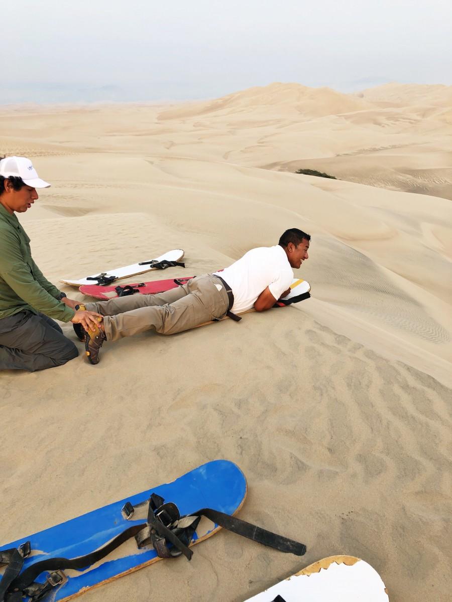 Sandboarding Hotel Paracas Venturia Desert Adventure Peru - Her Heartland Soul