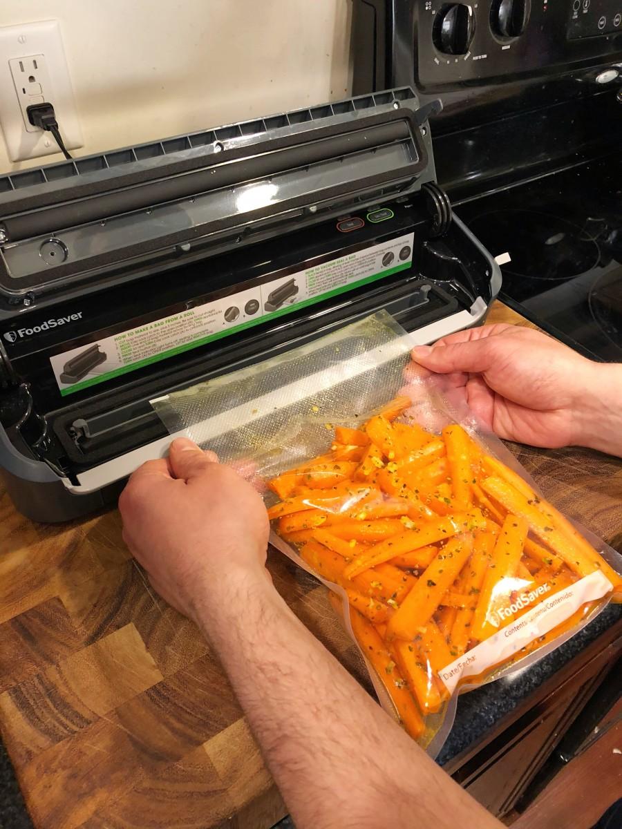 Glazed Sous Vide Carrots Recipe - Her Heartland Soul