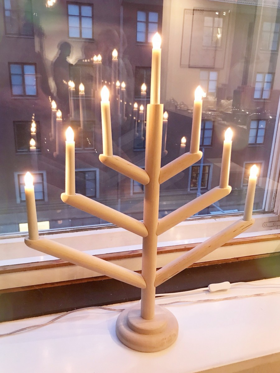 Advent candle Turku Finland - Her Heartland Soul
