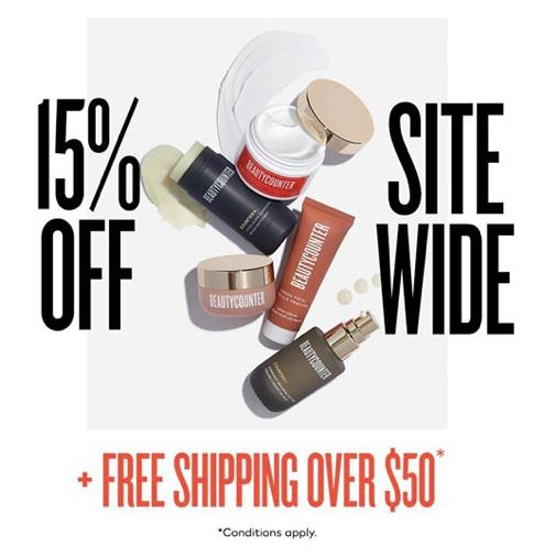 Beautycounter Black Friday 2019 Deal - 15% off - Her Heartland Soul