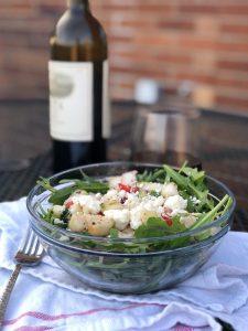 Simple cucumber salad recipe - Her Heartland Soul