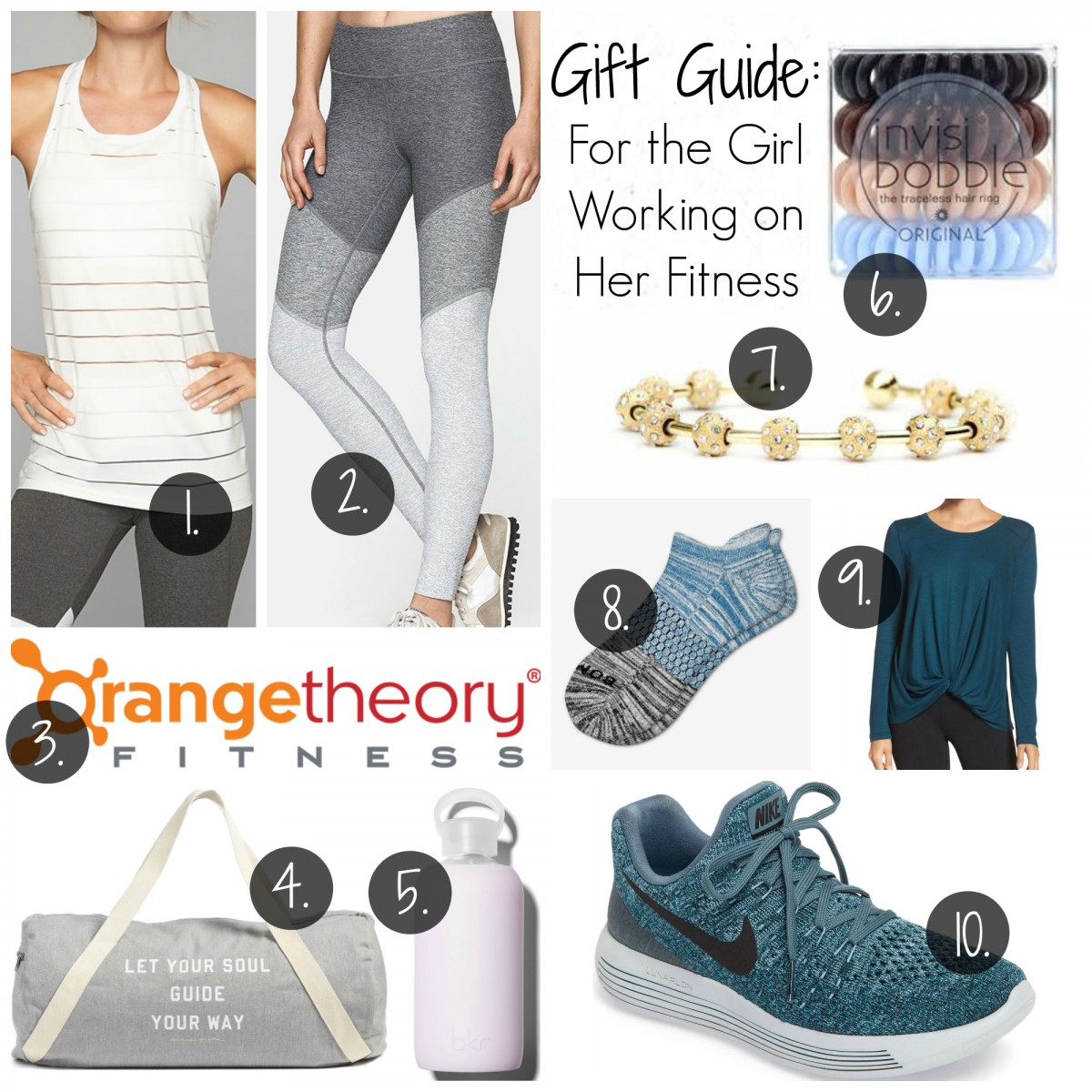 gift guide the girl working on her fitness her heartland soul