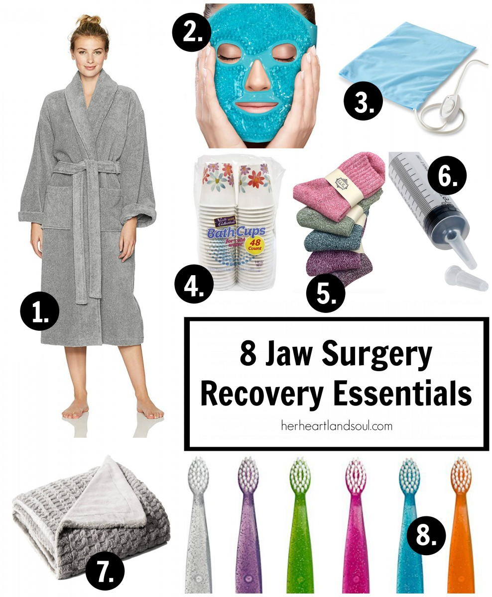 8 Jaw Surgery Recovery Essentials - Her Heartland Soul