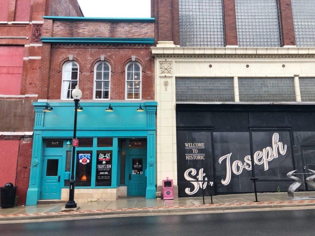 Tigers Den - St. Joseph Missouri - Her Heartland Soul