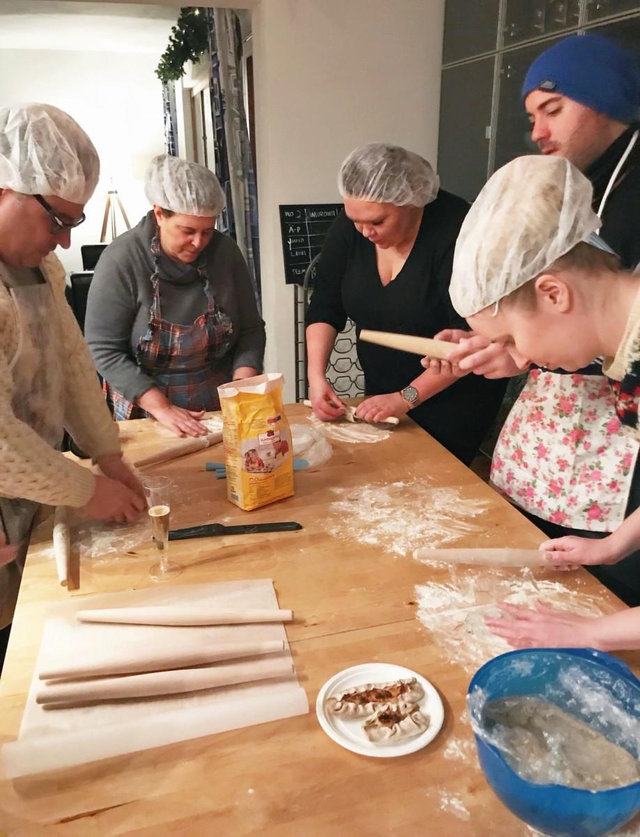 Karelian Pastry Making Class Turku Finland Her Heartland Soul