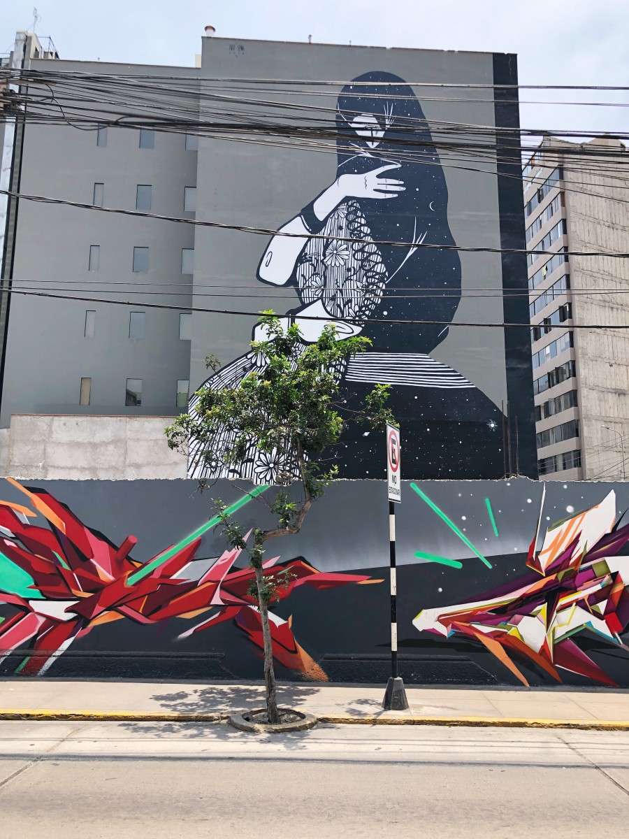 Miraflores Mural Lima Peru - Her Heartland Soul