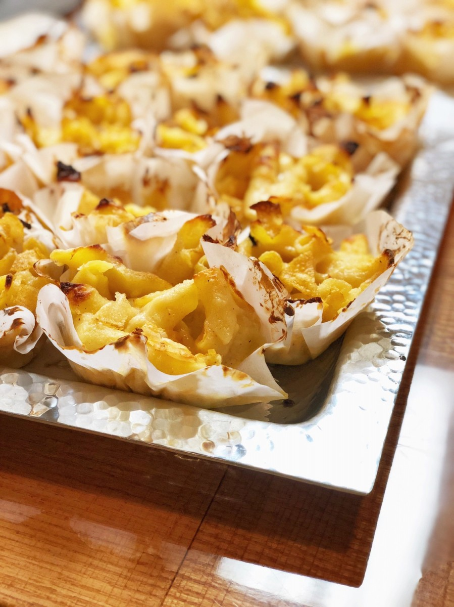 Potato chip crusted mac and cheese bites - Her Heartland Soul
