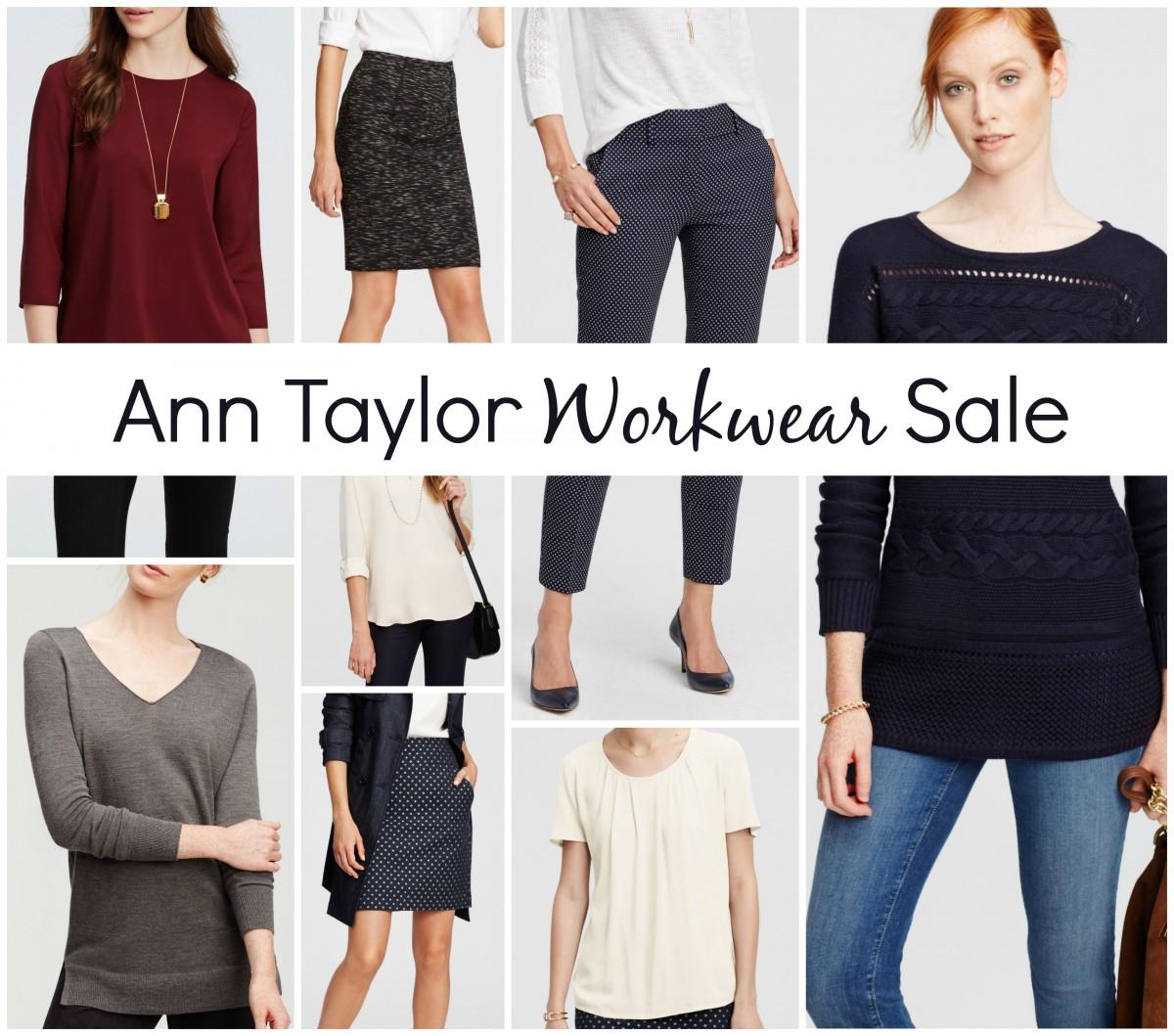 Ann Taylor Workwear Sale Her Heartland Soul