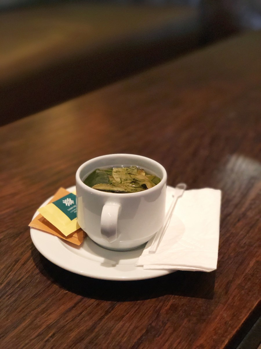 Coca Tea, Hotel Tambo del Inka Spa, Marriott Luxury Collection - Her Heartland Soul