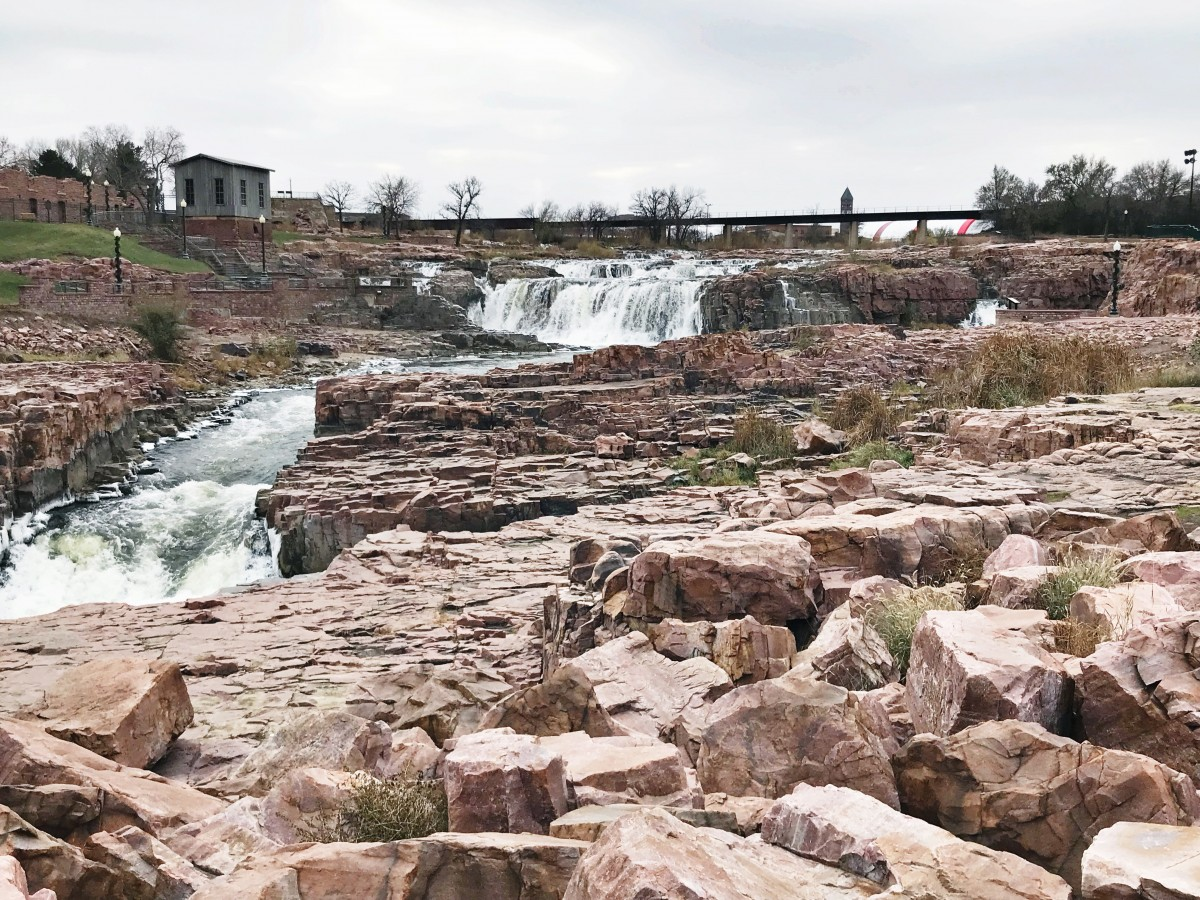 Falls Park Sioux Falls Her Heartland Soul