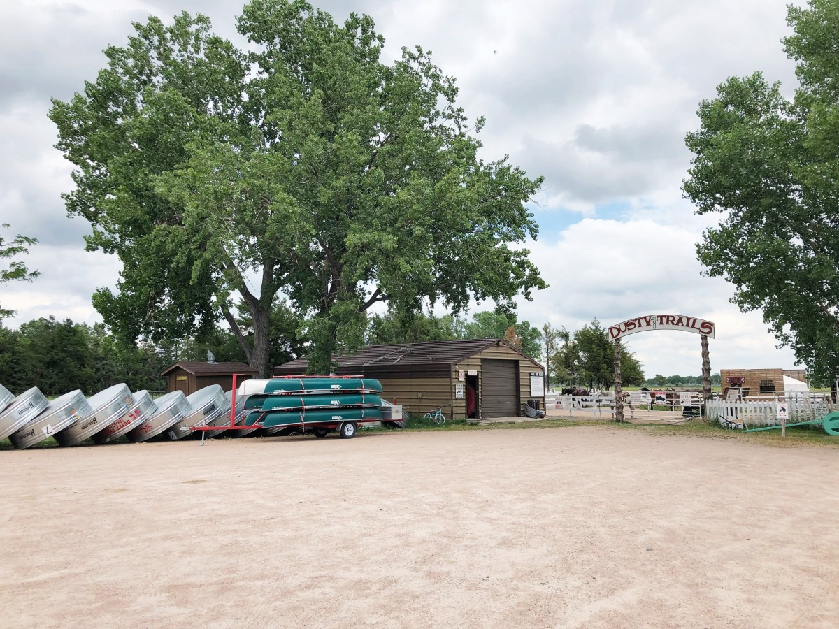 Dusty Trails River Tubing North Platte Nebraska Her Heartland Soul