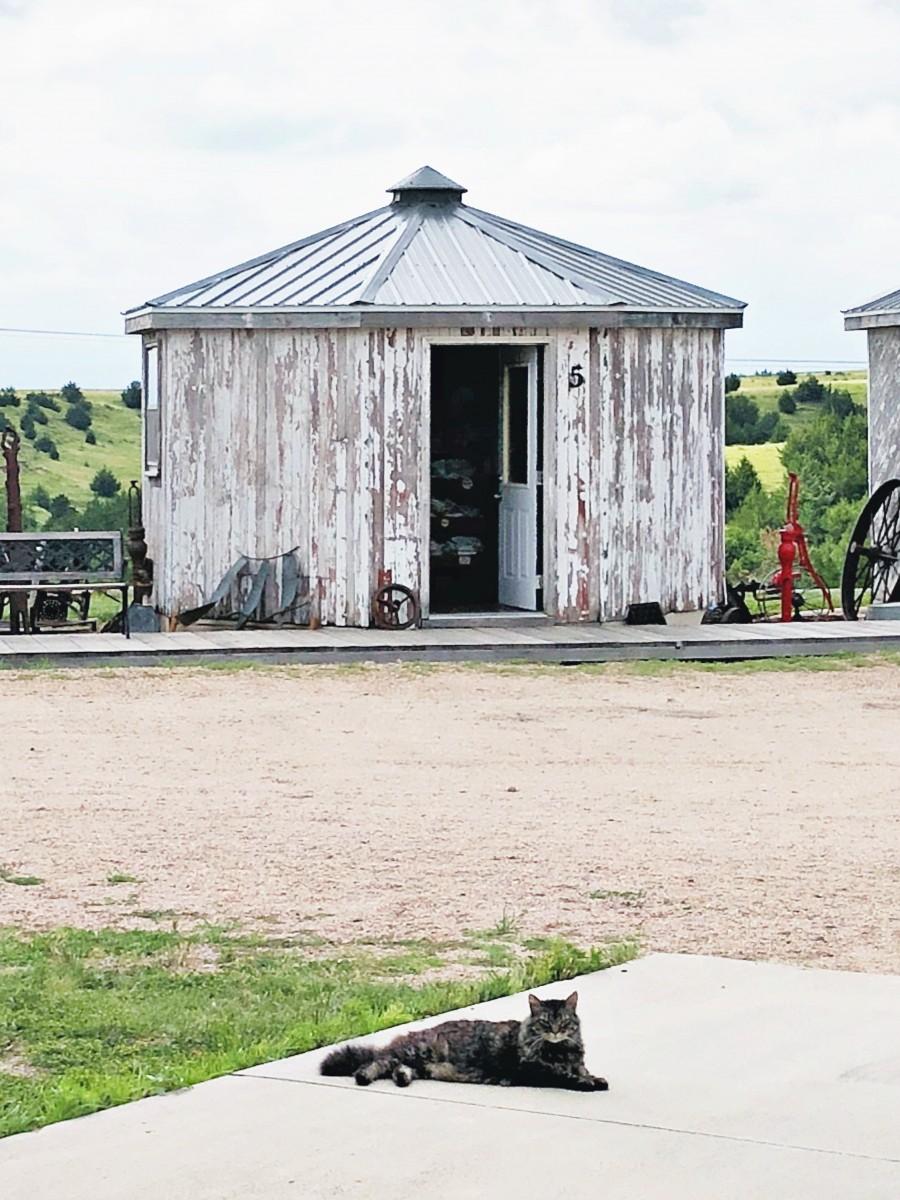 Grain Bin Antique Town North Platte Nebraska Her Heartland Soul