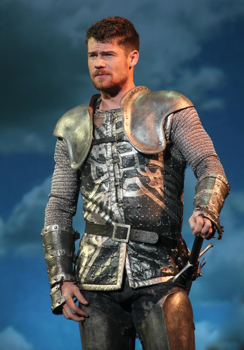 CAMELOT 5 - Tim Rogan as Lancelot (Photo by Mark Steven 2014)