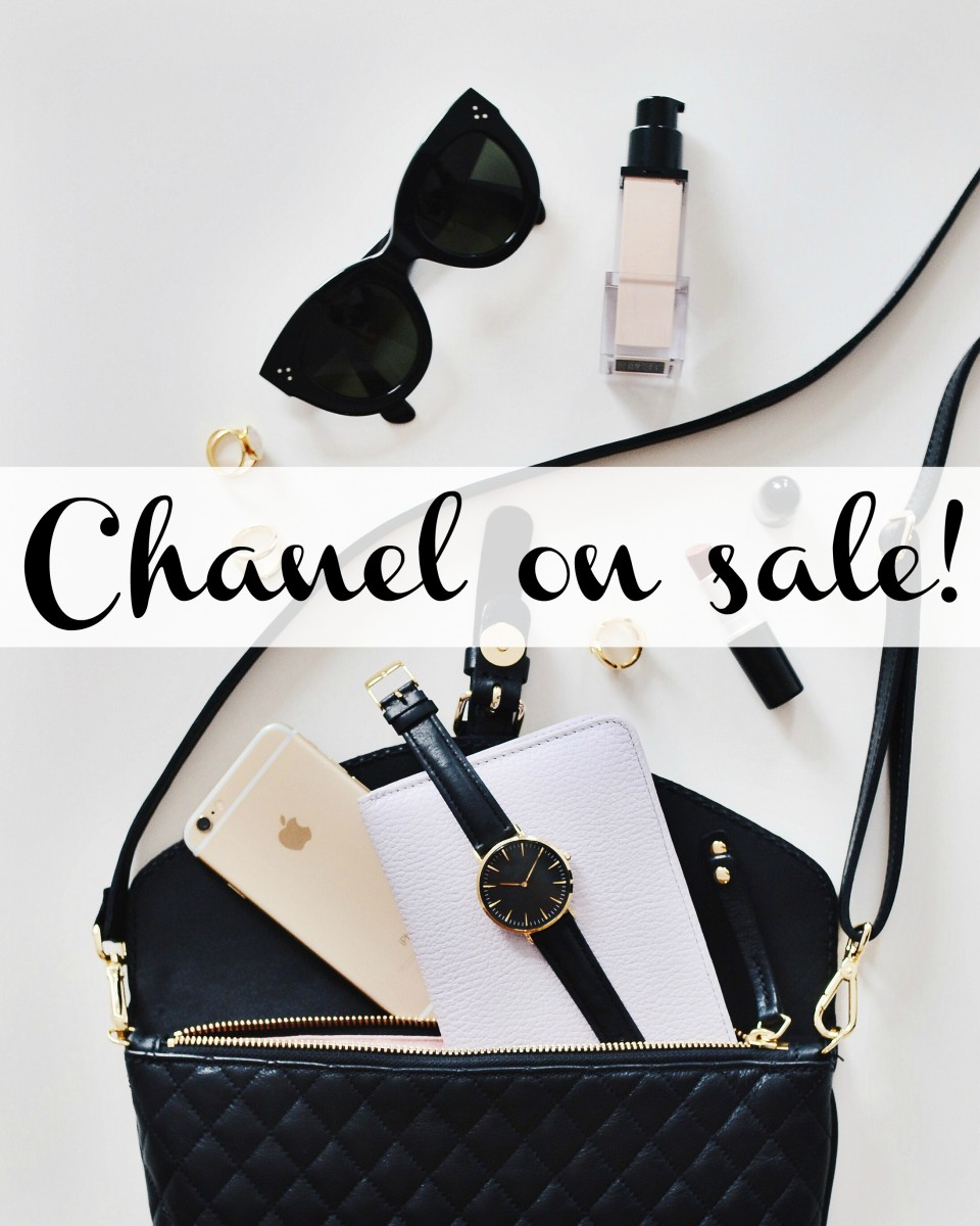 Chanel is on sale at Shopbop for black friday her heartland soul