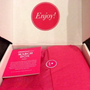 March 2014 POPSUGAR Must Have Box
