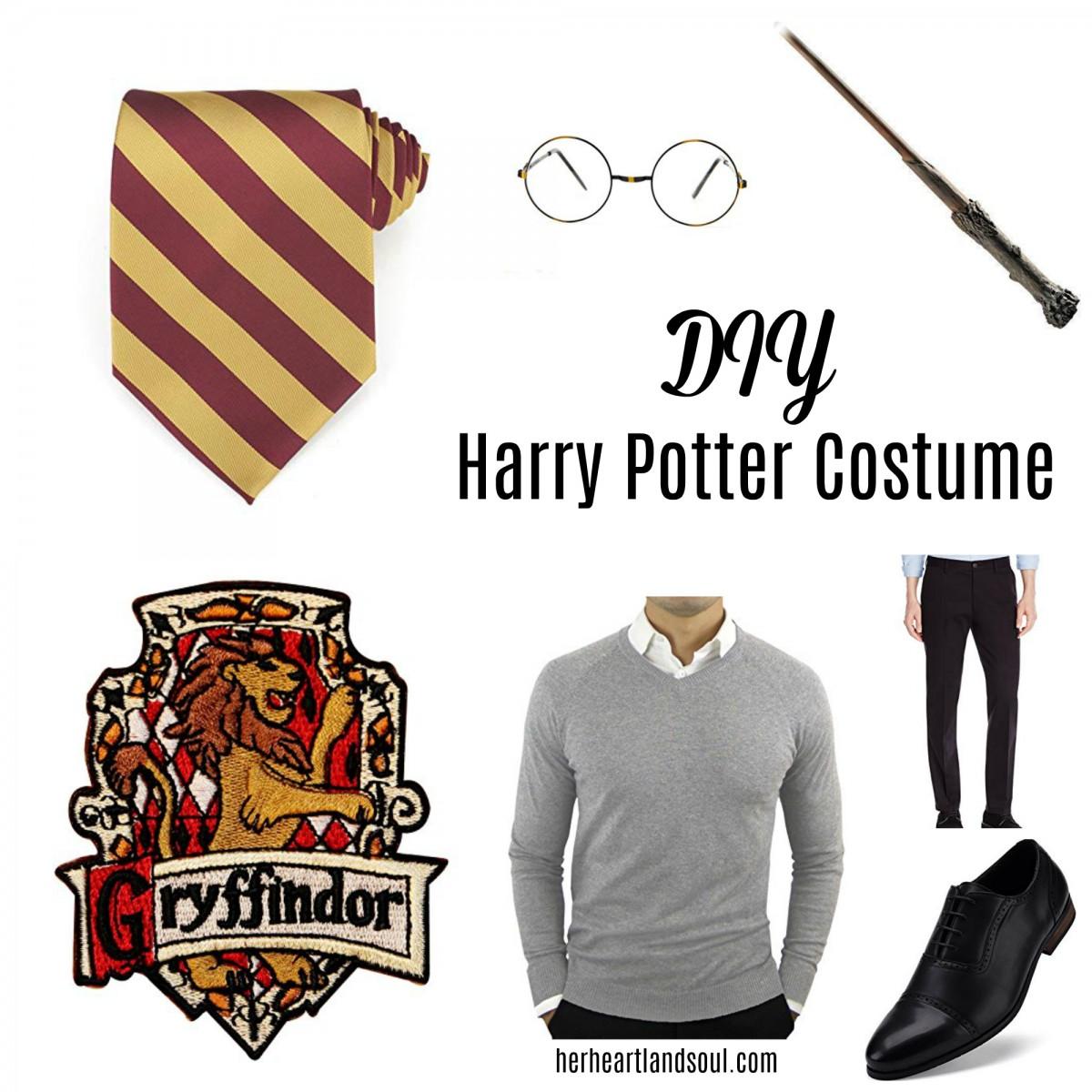 DIY Harry Potter Costume Halloween - Her Heartland Soul
