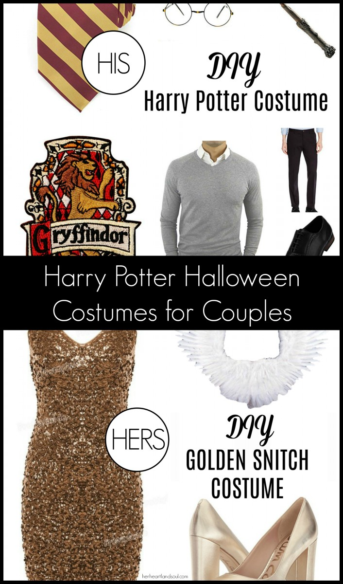 DIY Harry Potter Halloween Costumes for Couples - Her Heartland Soul