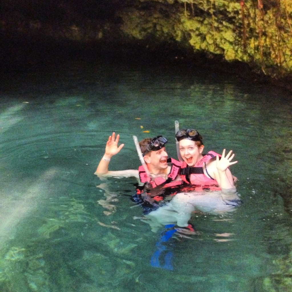 Erin Fairchild Girl Gone Veggie Honeymoon Cancun Mexico Cenotes