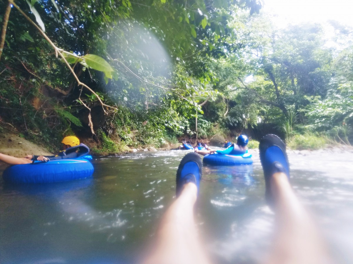 River tubing in dominica southern caribbean her heartland soul