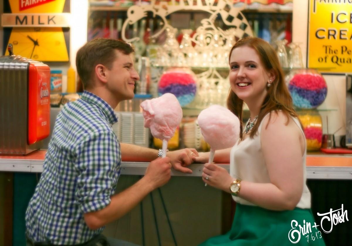2nd Cotton Candy Wedding Anniversary Photo Shoot Her Heartland Soul Erin Fairchild