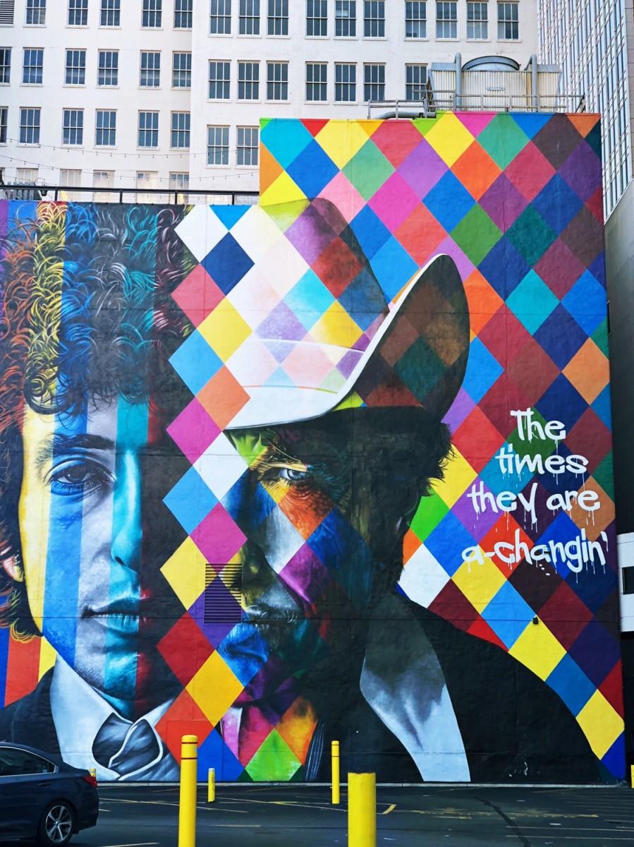 Downtown Minneapolis Minnesota Mural - Her Heartland Soul