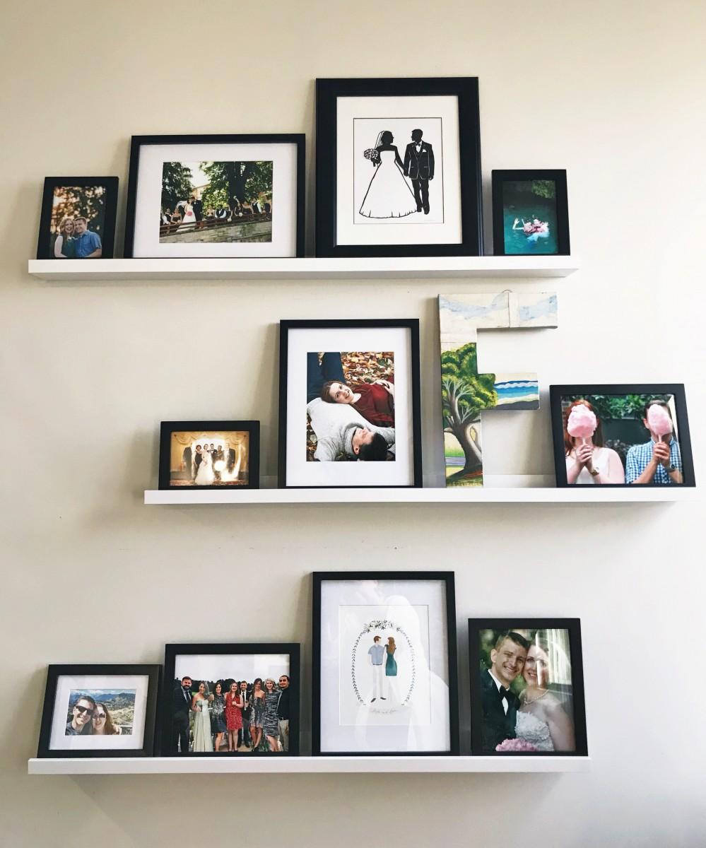 A DIY Picture Ledge Tutorial Her Heartland Soul
