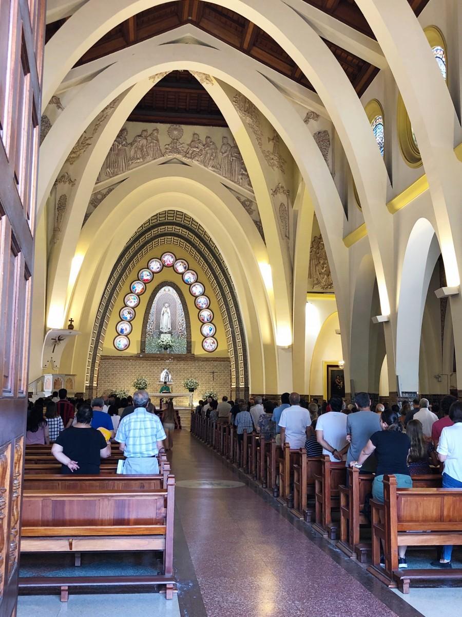 Miraflores Church Lima Peru - Her Heartland Soul